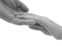 Hand in hand 1 Royalty Free Stock Photos