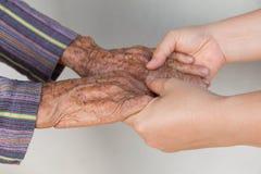 Hand in Hand Stockbilder