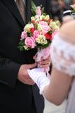 Hand in hand Royalty-vrije Stock Afbeelding