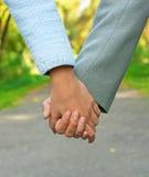 Hand in hand Stock Foto