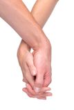 Hand in hand Royalty Free Stock Photo