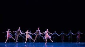 Hand- in- Hand - klassisches Ballett ` Austen-Sammlung ` Lizenzfreies Stockfoto