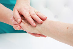 Hand in hand Royalty Free Stock Image