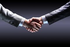 Hand for a handshake. Royalty Free Stock Image