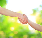 Hand for a handshake Royalty Free Stock Photography