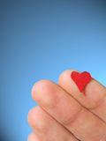 Hand on Heart Royalty Free Stock Images