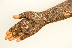 Hand with Heena Royalty Free Stock Images