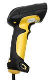 Hand held Barcode Scanner. On White Background Royalty Free Stock Photo