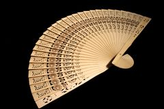 Hand-held fan Royalty Free Stock Image