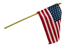 Hand Held Flag Royalty Free Stock Photos
