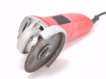Hand-held grinding tool Stock Photo