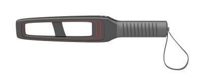 Hand-held metal detector Stock Image