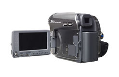 Hand held video camera Stock Images