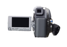 Hand held video camera Stock Photos