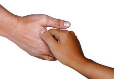 Hand of the help Royalty Free Stock Photo