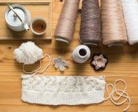 Hand - het gemaakte naaien stock foto