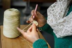 Hand - het gemaakte naaien stock fotografie