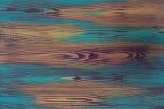Hand het geschilderde plaat kleurrijke illusie schilderen, trompe - l ' oeil, met creatieve imitatie van houten korrel, houten ra royalty-vrije stock fotografie