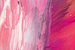 Hand het getrokken gouache schilderen Abstracte kunstachtergrond Kleurentextuur vector illustratie