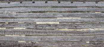 Hand Hewn Logs Background Stock Photos