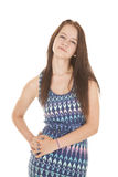 Hand on hip looking teen Royalty Free Stock Photography