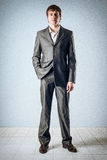 Hand in his pocket Royalty Free Stock Photography