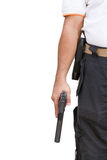 Hand hold guns Stock Photography
