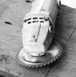 Hand-hold saw machine Stock Image