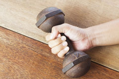 Hand hold Weight-lifting Stock Photos