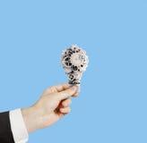 Hand holdig bulb Royalty Free Stock Photos