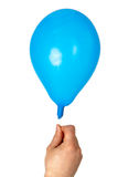 Hand holding balloon Royalty Free Stock Photo