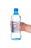 Hand holding bottle of water Stock Image