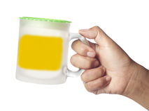 Hand Holding Cup Royalty Free Stock Photos