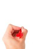 Hand Holding Dart Arrow Stock Photos