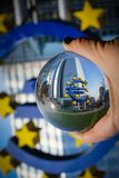 European Union upside down stock photography
