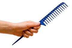 Hand holding the handle rake Royalty Free Stock Photography