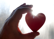 Heart of the Rising Sun Royalty Free Stock Photo