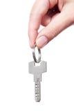 Hand holding key Stock Image
