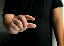 Hand holding Royalty Free Stock Images