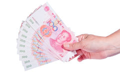 Free Hand Holding Money Stock Photography - 21982712