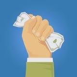 Hand holding money Royalty Free Stock Photo