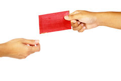 Hand Holding Red Envelope Royalty Free Stock Photo