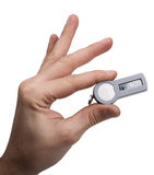 Hand holding Security token Stock Photography