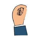 Hand holding something Stock Photos