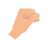 Hand holding something Stock Image