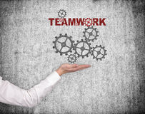 Hand holding  teamwork concept Royalty Free Stock Image