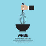 Hand Holding A Whisk Royalty Free Stock Images