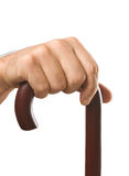 Hand holds a cane Royalty Free Stock Photos