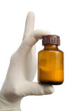 Hand holds a medicine Royalty Free Stock Photography