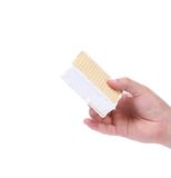 Hand holds wafer ice cream. Royalty Free Stock Photos